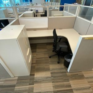 Used Haworth Compose Cubicles